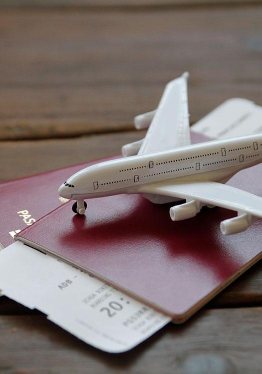documentos para viajas