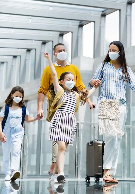 Viajar con niños en pandemia